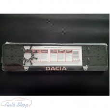 Dacia  3D rendszámtábla tartó