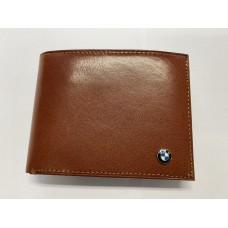 BMW bőr pénztárca barna