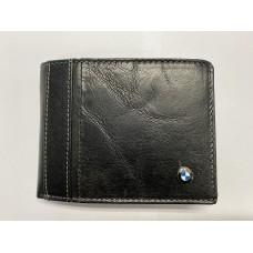 BMW fekete bőr pénztárca