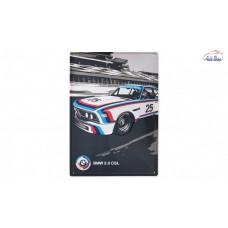 BMW Motorsport Heritage fémtábla