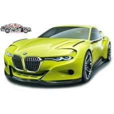 BMW 3.0 CSL Hommage 1:18 modellautó