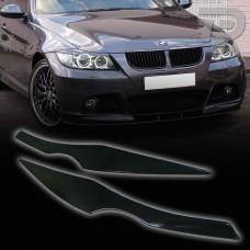 BMW  E90,E91 ELSŐ LÁMPA SZEMÖLDÖK SZPOILER