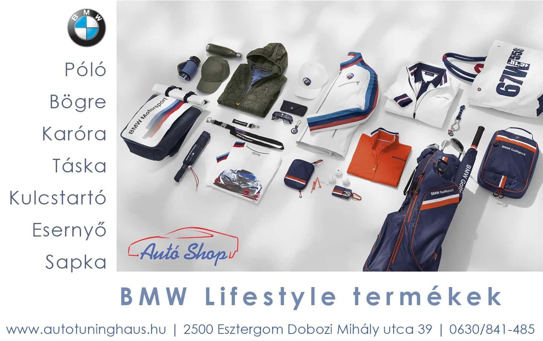 bmw lifestyle termékek széles választéka