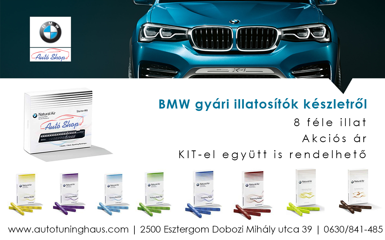 Gyári BMW natural air illatosító