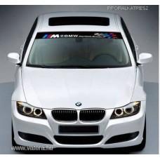 BMW M Szélvédő dekorációs fólia
