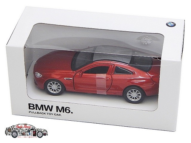 BMW 1:44 M6 MODELLAUTÓ