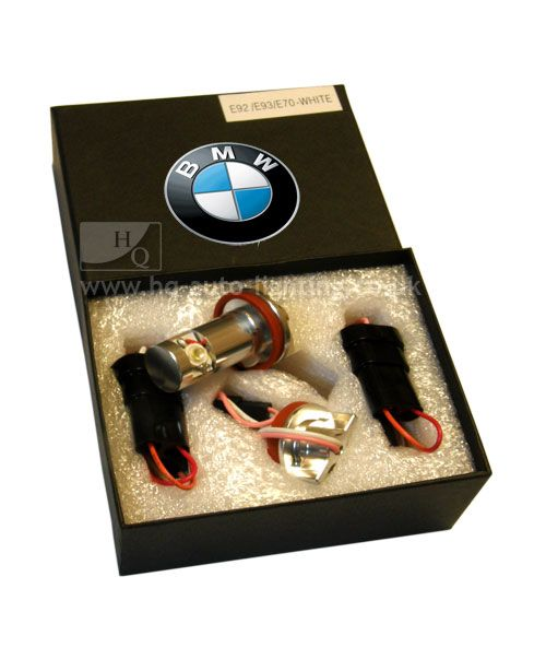 BMW ANGEL EYES LED VILLÁGITÁS E82,E87,E90,E91,E92,E93,E60,E61,E63,E64,E70,E89
