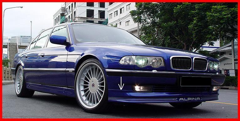 BMW E38  ALPINA ELSŐ LÖKHÁRITÓ TOLDAT