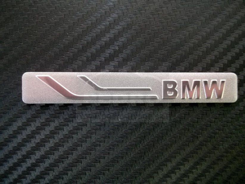 BMW  ALUMÍNIUM EMBLÉMA