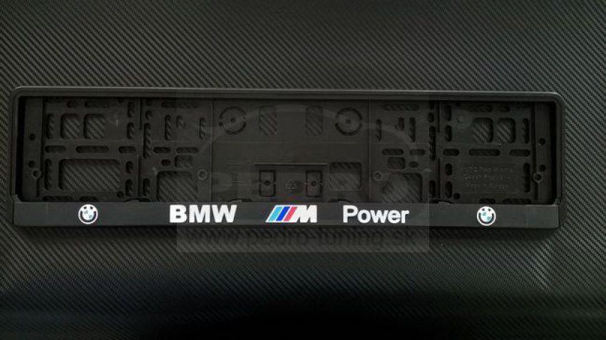 BMW  3D RENDSZÁMTÁBLA TARTÓ