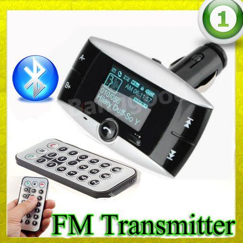 FM TRANSMITTER BLUETOOTH