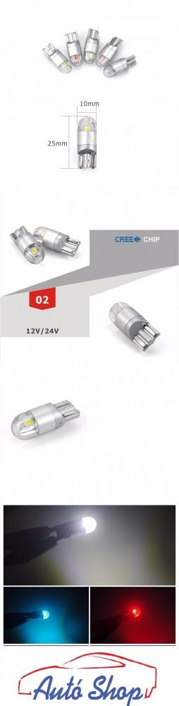 T10   T10 168 194 W5W LED   CANBUS XENON FÉNYŰ