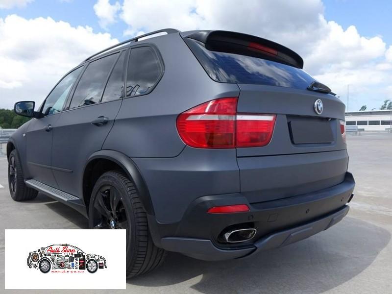 BMW X5 E70  POLÍROZOT KIPUFOGÓ VÉG !!!