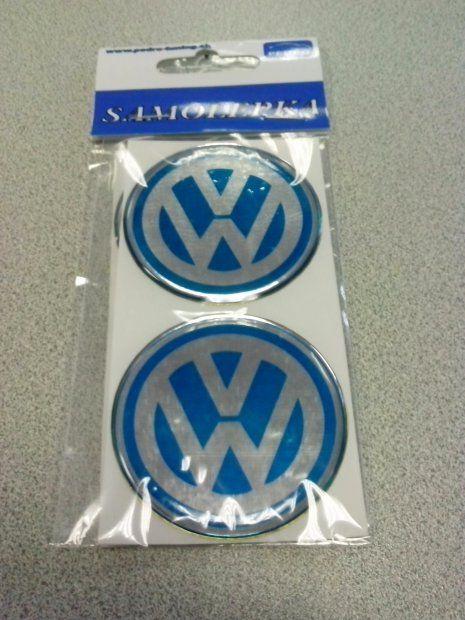 VW 55MM  3D ALUFELNI KUPAK EMBLÉMA