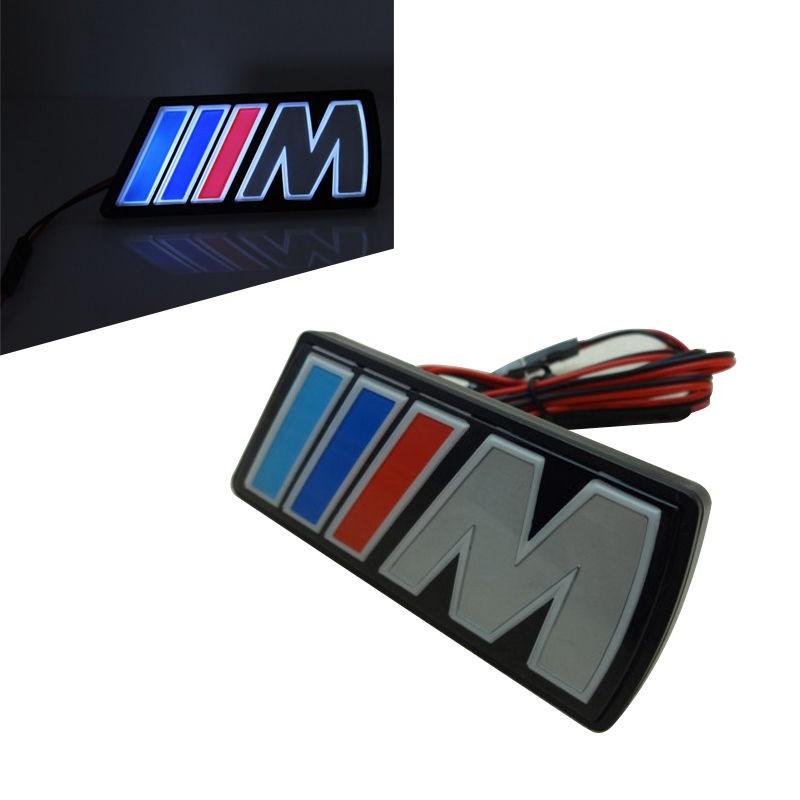 BMW M-ES VILLÁGÍTÓS HŰTŐRÁCS EMBLÉMA