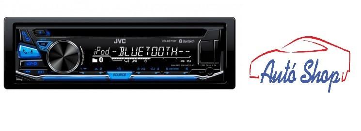 JVC KD-R784BT autórádió ,Bluetooth,USB,AUX bemenet.
