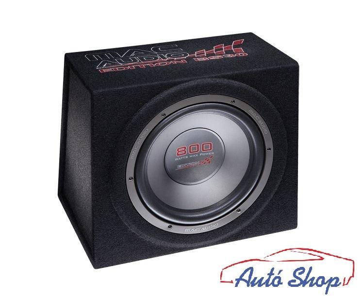macAudio Edition BS30 Black Zárt mélynyomóláda 30cm 800W